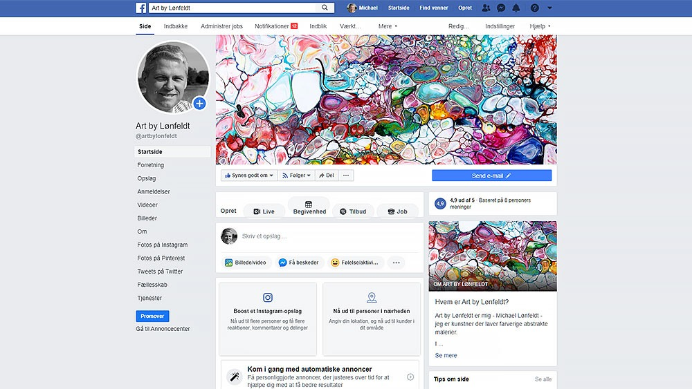 Facebook markedsføring