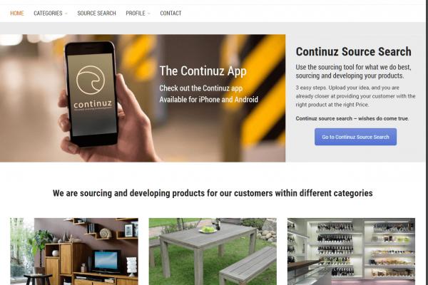 Hjemmesiden continuz.com