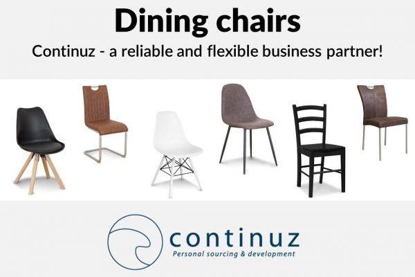 Salgspræsentation spisebordsstole