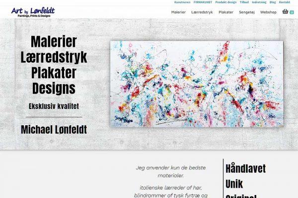 Art by Lønfeldt hjemmeside