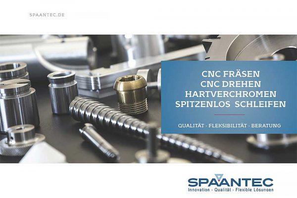 Spaantec tysk salgskatalog