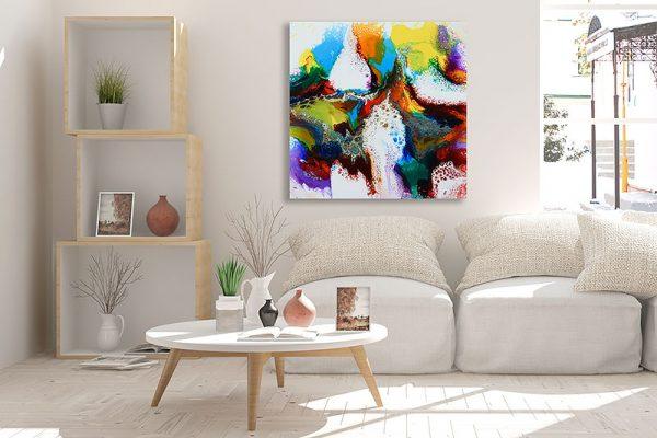 Maleriet Brilliance I af Art by Lønfeldt